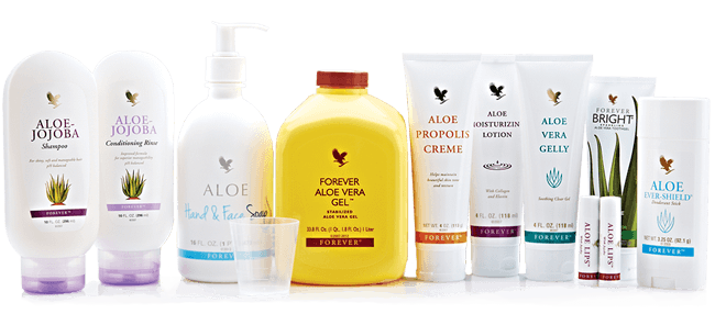 Image of Forever Living Aloe Vera Products